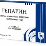 Гепарин и его применение для лечения варикозной болезни