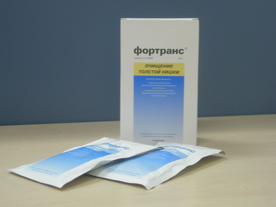 Внешний вид упаковки Фортранса