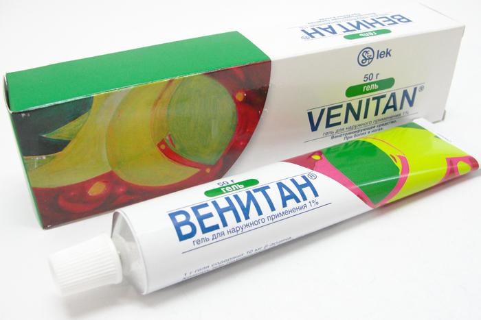 Внешний вид упаковки Венитан