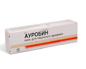 Внешний вид упаковки Ауробин