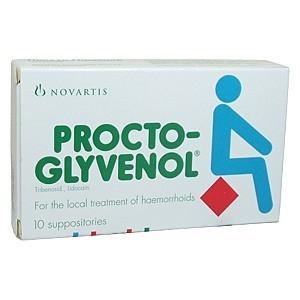 Внешний вид упаковки Прокто Гливенол