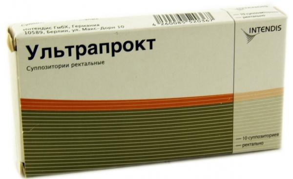 Внешний вид упаковки Ультрапрокт