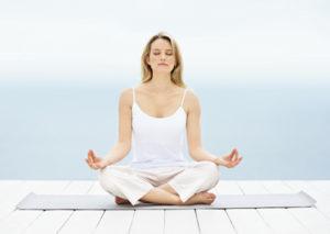 Поза в йоге