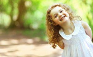 Ребенок с нормальным уровнем сахара в крови