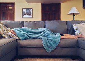 Повышение LYM при стрессе
